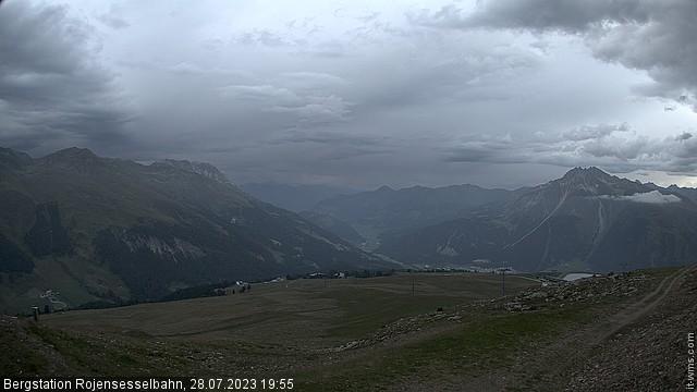 Webcam Skigebiet Schöneben - Bergstation Rojensesselbahn